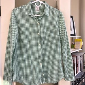 Fitted Boyfriend Button Down Shirt